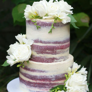 Tiered Semi-Naked Layer Cake