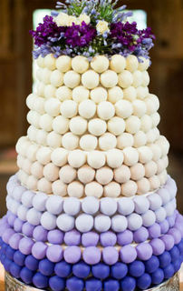 Cake Ball Display  - Ombre