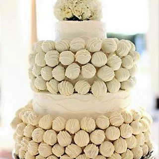 Cake Ball Display - Rustic