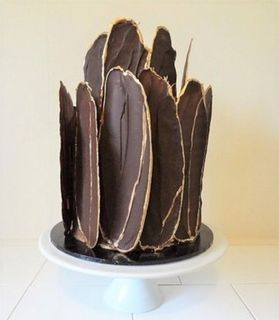 Chocolate Shard Cake