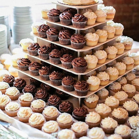 Cupcake Display - Mixed
