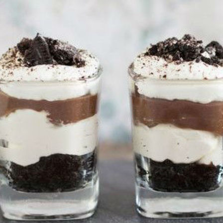 Dessert Shooters - Chocolate Cheesecake