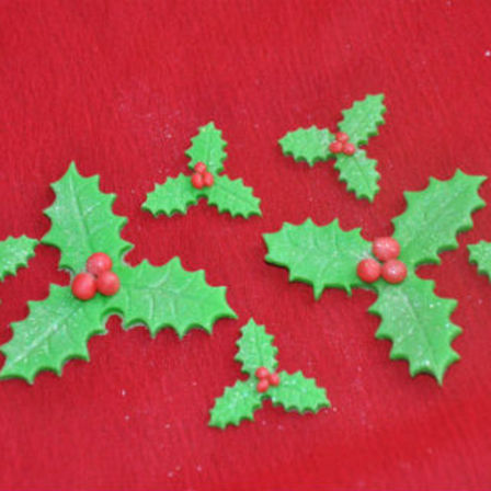 christmas holly decorations - Christmas Holly Decorations