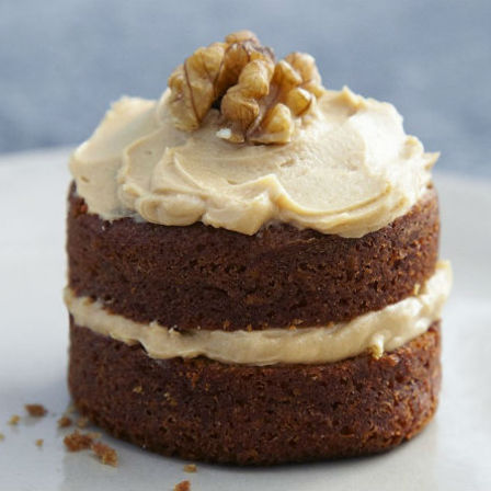 Mini Coffee Walnut Cakes