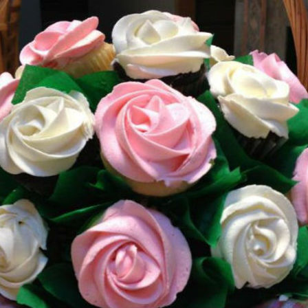 Cupcake Bouquets - Roses