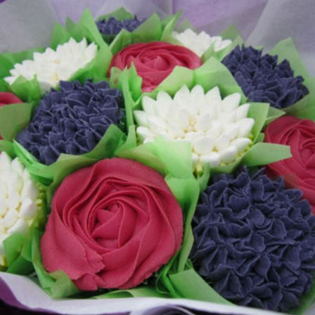 Cupcake Bouquet - Mixed Flower