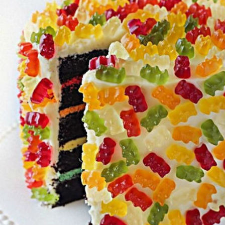 gummy bear wedding cake gummy cake cake amp bake kiwi 15020