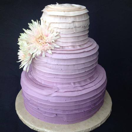 Ombre Three Tier Cake