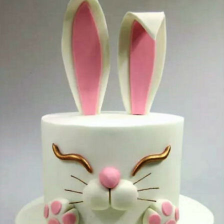 Long Earred Rabbit Cake Cake Amp Bake Kiwi