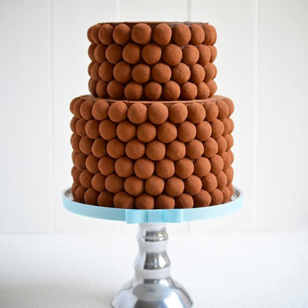 Truffle Tower Cake