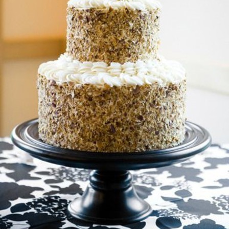 Two Tiered Carrot Cake