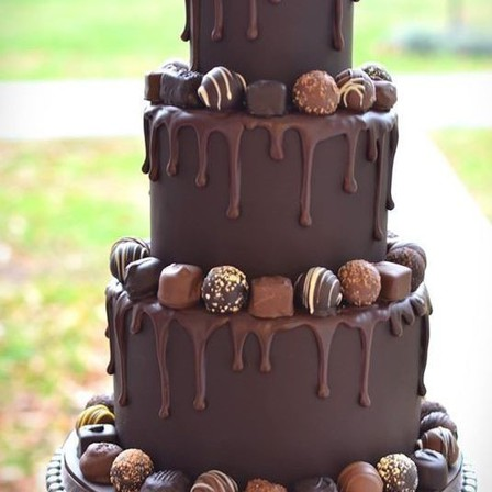 Chocolate Dream Tiered Drip Cake